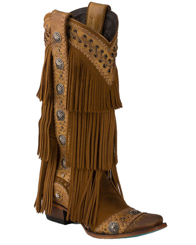incredible prices wholesale sales the latest Lane Womens Wind Walker Fringe Boots