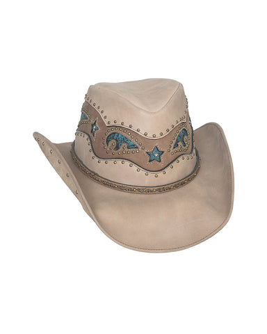 Bullhide Worth It Top Grain Leather Hat