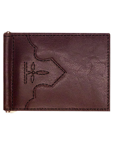 Access Money Clip - Burgundy
