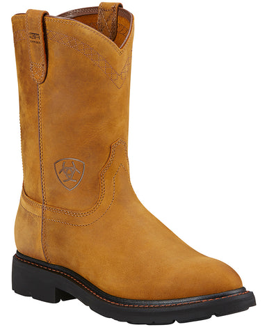 Mens Sierra Pull-On Boots - Bark