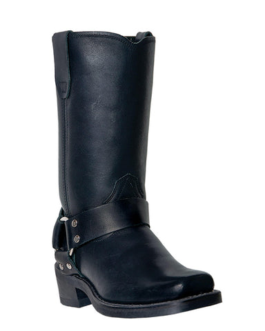 Women's Molly Harness Boots - Black