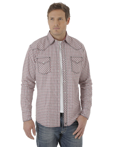 Men's 20X Advance Comfort Plaid Long Sleeve Shirt - Multi