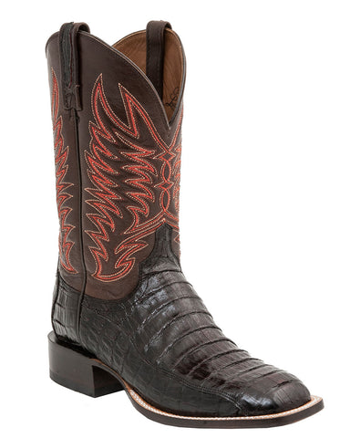 Men's Logan Ultra Belly Caimain Tail Boots