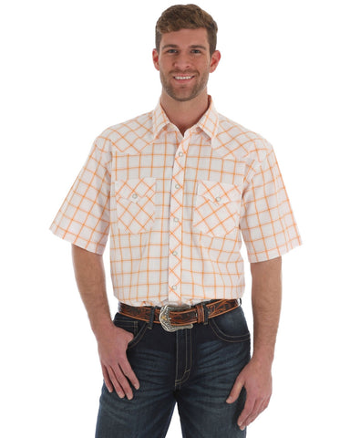 Mens 20x Advanced Comfort Short Sleeve Western Shirt