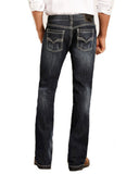 Mens ReFlex Pistol Straight Leg Jeans - Medium