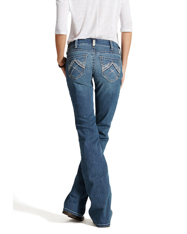Womens Whipstitch Rainstorm Riding Jeans