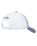 Skull & Hooks Mesh Hat - Atlantic Blue