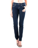 Women's Stitch Faux Pocket Jeans