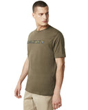 Men's Camo Logo T-Shirt - Brown