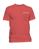 Mens Anchored Marlin Pocket T-Shirt
