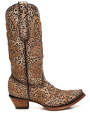 Women's Chameleon Embroidered Boots