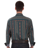 Men's Long Sleeve Southwestern Shirt