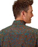 Men's Amarillo Paisley Long Sleeve Western Shirt