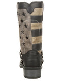 Men's Faded Flag Harness Boots