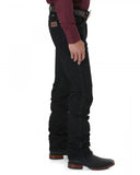 Mens Cowboy Cut Slim Fit Jeans - Black