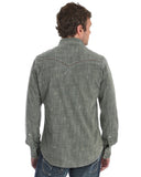Men's Rock 47 Solid Tonal Long Sleeve Western Shirt