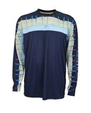 Men's Del Mar Performance Long Sleeve T-Shirt - Navy