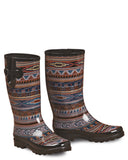 Womens Perry Tribal Rain Boots