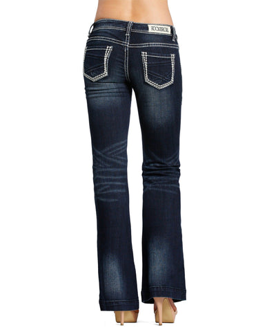 Womens Trouser Low Rise Jeans