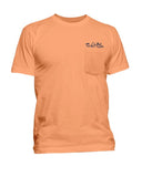 Mens Skinz Pocket T-Shirt - Grapefruit