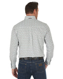 Men's Performance Buttondown Western Shirt - White