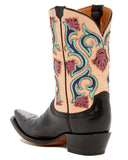 Women's Belle Flower Boots - Black