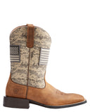 Mens Sport Patriot Boots - Sage
