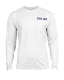 Men's Electric Skinz SLX Long Sleeve T-Shirt - White