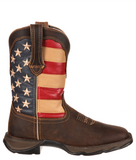 Womens Lady Rebel Patriotic Boots
