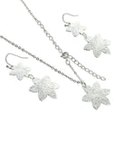 Sunrise Gleam Flower Jewelry Set