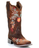Women's Floral Embroidered Western Boots