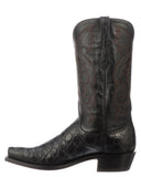 Men's Rio Giant Gator Boots - Black