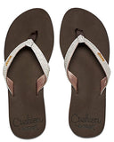 Womens Star Cushion Sassy Flip-Flops