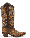 Women's Embroidered Teju Lizard Boots