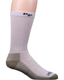 Mens Medium Weight 2-Pack Work Socks