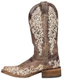 Women's Crater Embroidered Boots
