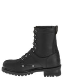 "Mens 8"" Faded Glory Lace-Up Boots"