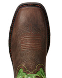 Mens Workhog VentTEK Pull-On Boots - Green