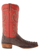 Men's Chisholm Hornback Caiman Crocodile Tail Boots