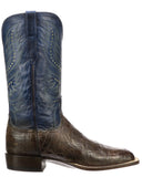 Men's Troy Giant Gator Boots - Chocolate