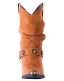 Women's Camilla Fashion Harness Boots - Rust