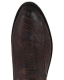 Mens 1883 Ostrich Leg Boots - Brown