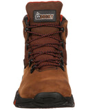 Men's Rocky Bigfoot Lace-Up Boots - Brown