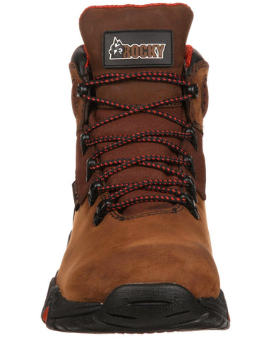 539c4b41886 Mens Rocky Bigfoot Lace-Up Boots - Brown