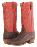 Mens Chisholm Hornback Caiman Crocodile Tail Boots