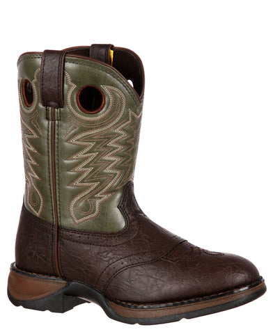 Kids Saddle Boots