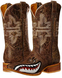 Mens Toastin A Gnarly Shark Boots