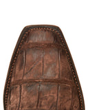 Men's Burke American Alligator - Chocolate