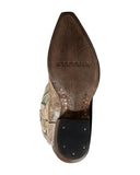 Women's Hannah Crackled Wingtip Western Boots