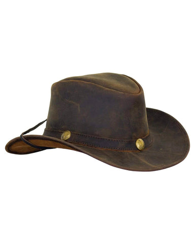 Men's Cheyenne Leather Hat